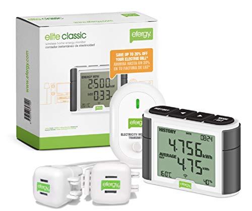 Efergy Technologies ELITE CLASSIC 4.0 Misuratore di risparmio di energia elettrica wireless