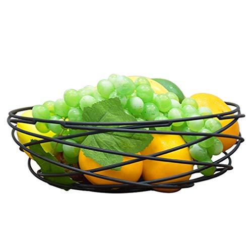 QTT Bananenkorb, Obstkorb, Haushaltsobstkorb, Abfallsortierkorb Mit Großem Fassungsvermögen Für Das Wohnzimmer, Aufbewahrungskorb Für Gemüse, Trockenfrüchte Und Snacks