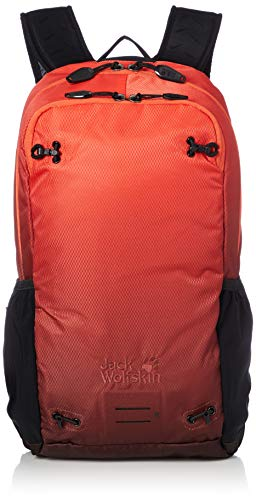 Jack Wolfskin Unisex Halo 22 Pack Sport Sac a DOS Sportrucksack, Aurora orange, One Size
