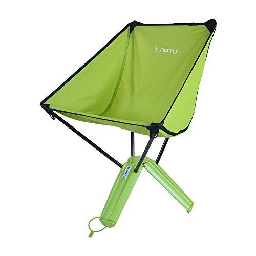 CQ Chaise Pliante extérieure Portable Pique-Nique Barbecue Pêche Nouveau Chaise Triangle,Green
