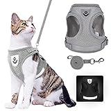 Cat Harness and Leash Set -...