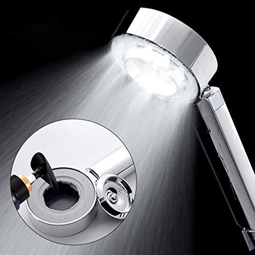 OutingStarcase Titular de la ducha de plástico ducha de manguera de doble cara de la ducha de múltiples funciones de ducha de mano de alta presión de cabezal de ducha