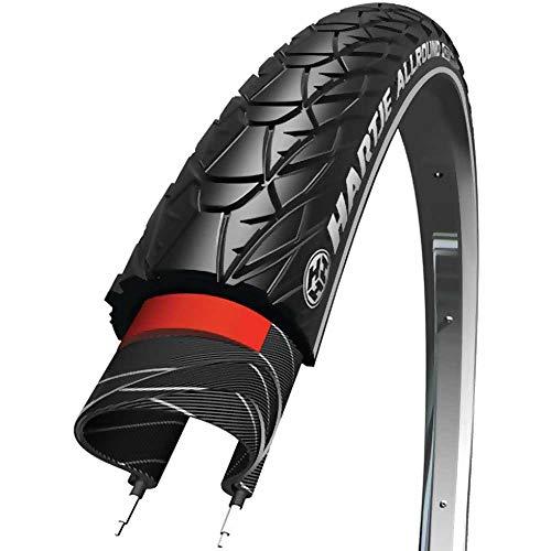 HARTJE Reifen Allround 18 x 1,6 Zoll 47-559mm schwarz Reflex ca.705g 42 +Flicken
