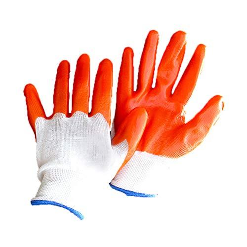 iplusmile 1 Paar Tiere, die Schutzhandschuhe handhaben Verdicken Anti- Biss- Kratzer Gartenarbeit Wildtierschutzhandschuhe für Hamsterkleider für kleine Haustiere (Weiß)