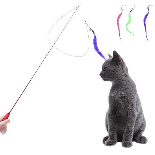 Jouet à plumes pour chats