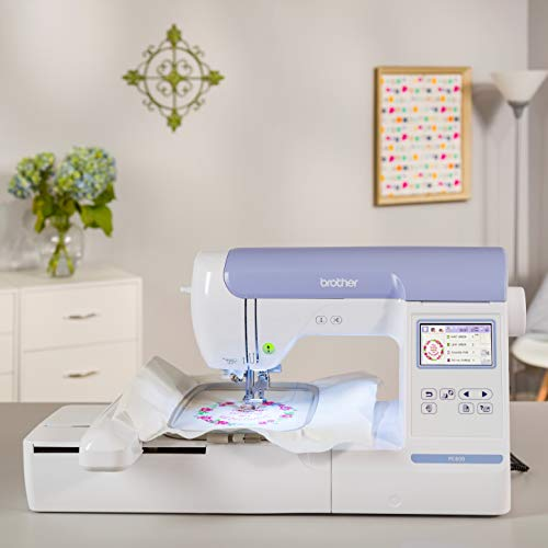 Brother PE800 Embroidery Machine, 138 Built-in Designs, 5