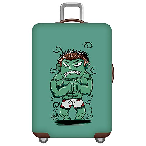 Funda Maleta,Protector de Maleta,Luggage Cover,Anti-Polvo Elástico Utilizado para Maletas de 18-32 Pulgadas.Funda elástica a Prueba de arañazos,[XL] Verde Gigante