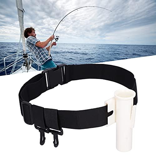 SONK Soporte de caña de Pescar, Resistente, portátil, caña de Pescar, cinturón, Resistente a la corrosión para Exteriores