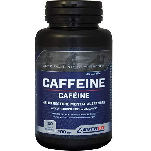 Cafeína 200mg 100 pestañas