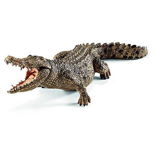 brightsen Krokodil Spielzeug für Kinder Figur Spielzeug pädagogische Kreaturen 7.2inch