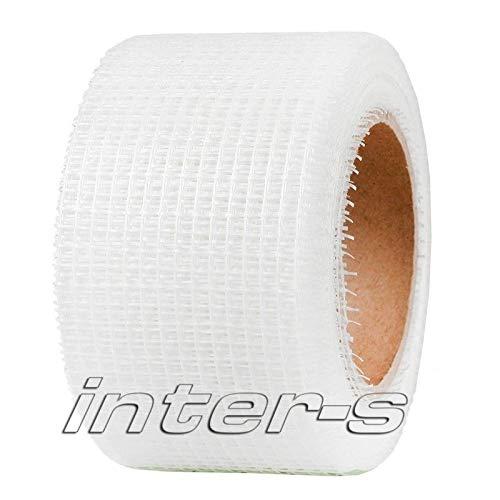 10x 50mm//45m Gitterband Selbstklebend Fugenstreifen Gewebeband Anti Rissband