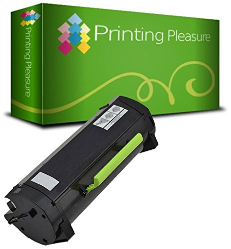 Compatible Toner Cartridge for Dell B2360D B2360DN B3460DN B3465DNF - Black, High Yield (2, 500 Pages)