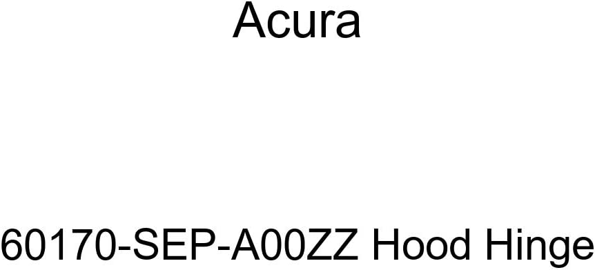 Genuine Cheap mail order sales Acura 60170-SEP-A00ZZ Max 76% OFF Hinge Hood