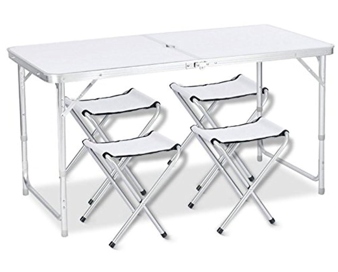 モチーフ一定助けてDesertFox アウトドア 折りたたみ テーブル 120×60×(55-62-70)cm 3WAY 自由に高さ調整可能 ピクニック レジャー キャンプ 用