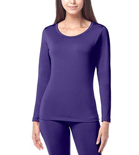 LAPASA Camiseta Térmica para Mujer -Brushed Back Fabric Technique- L15