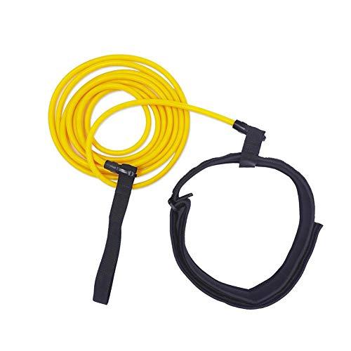 LSGD Cinturones de Entrenamiento de natación, Tether Bandas de Resistencia estacionarias Entrenador de natación Cinturón Flotante Ajustable, para niños Adultos Herramientas de para Piscinas (5x8x3m)