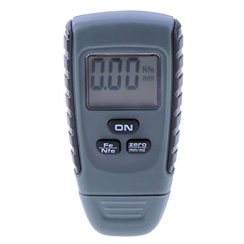 KKmoon Schichtdickenmessgerät Mini Digital Dickenmessgerät mit LCD Display Lackdickenmessgerät Tester Werkzeug Instrumente für Auto