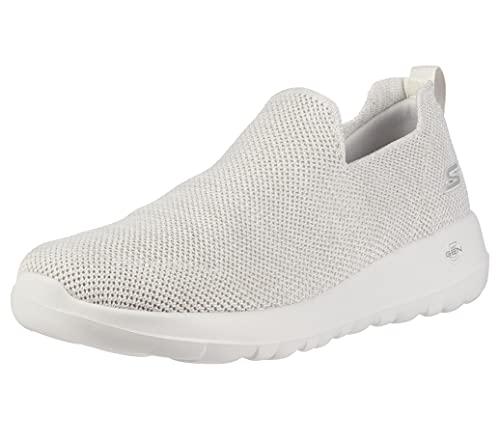 Skechers Men's Go Max-Athletic Air Mesh Slip on Walking Shoe Sneaker, Off-White, 10.5
