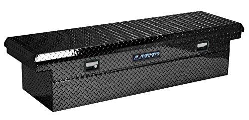 "Lund 7511101 Black 70"" Slimline Full Size Cross Bed Truck Tool Box"