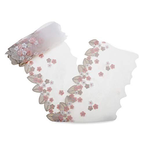 IDONGCAI hojas de tela de encaje de flores tela de cola de...