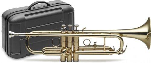 Stagg 77-T B-Flat Trompete mit ABS-Koffer