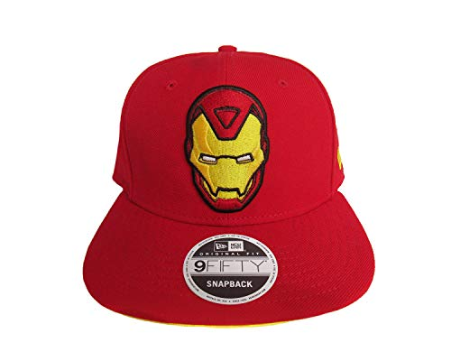 New Era Iron Man Red Snapback Cap 9fifty 950 OSFA Basecap Limited Edition