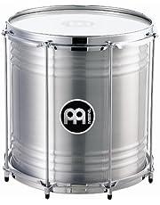 Meinl Percussion RE12 - Repinique de aluminio (30,48 cm/12 pulgadas), color plateado