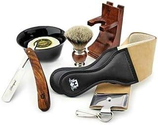 Zestaw golarek do golenia z cięciem gardła dla mężczyzn - profesjonalna maszynka do golenia z końcówkami do golenia ze szc...