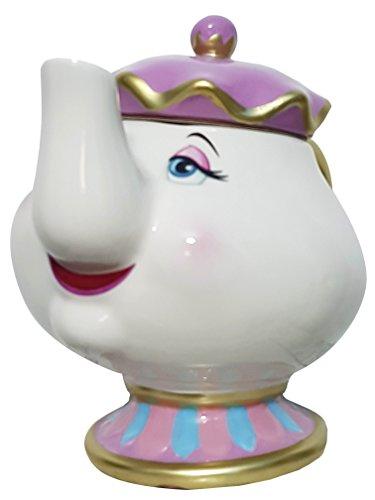 Primark DivasWorld Teekanne Madame Pottine, Disney Die Schöne und das Biest, Keramik
