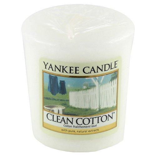 Yankee Candle Clean Katoen Votief/Sampler