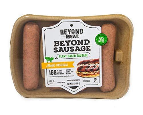 Beyond Meat Beyond Sausage Brat Original,, 14 Oz (Pack Of 8)