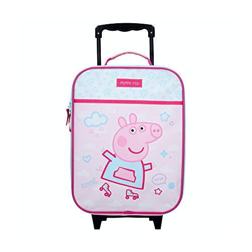 Peppa Pig Trolley | Peppa Roll with me | 40 x 30 x 14 cm Estuche de Viaje