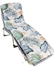 Ligbed, ligstoel, kussen, vervangende zonnebed, hoge rugleuning, stoelkussen, geschikt voor binnen en buiten, balkon, tuinreizen