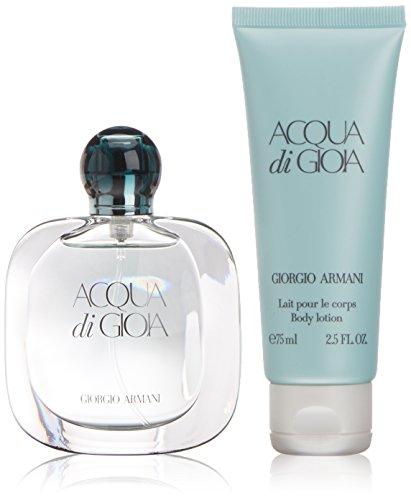 Armani Acqua di Gioia Set Regalo Eau De Parfum - 30 ml, Lozione per Corpo - 75 ml
