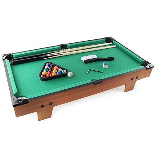 Tabletop Pool Spiel - Mini Billard Tisch Snooker Spiel für Familienkinder/Erwachsene, Tragbares Sportspiel
