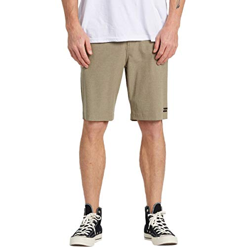 Billabong Crossfire Tauch-Shorts, 53,3 cm, Khaki