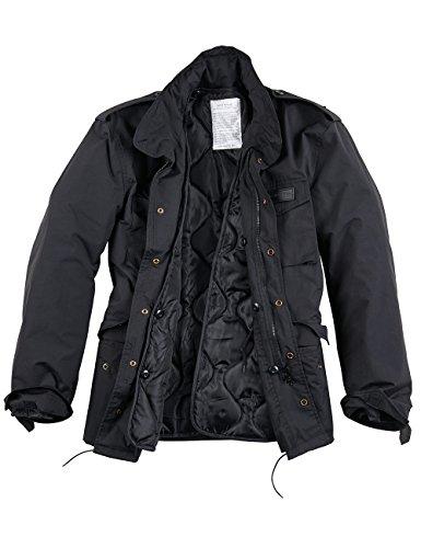 Surplus Raw Vintage Hydro US Fieldjacket M65, schwarz, 5XL
