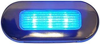 水绿色信号 LED 椭圆形浅蓝色不锈钢外壳 LED 椭圆形灯,