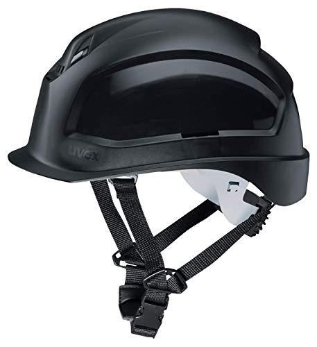 Uvex 9772931 Schutzhelm für die Baustelle - Bauhelm für Erwachsene - Schwarz