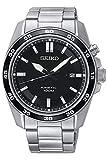 Seiko Herren Analog Kinetik Uhr mit Edelstahl Armband SKA785P1