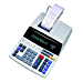 Sharp EL-1197PIII Heavy Duty Color Printing Calculator with Clock and Calendar (Renewed)