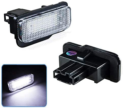 2pcs LED License Plate Lights Lamp Assemblies Set Overseas parallel import regular item 6000K White 18 Ranking TOP9