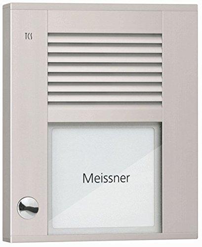 TCS Tür Control Audioaußenstation1-reihig PDS01-EN/04