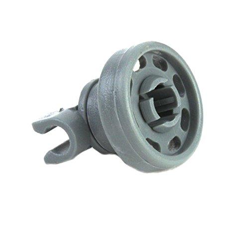 DeClean Korbrollen Spülmaschine Ersatz für Bosch Siemens 424717 Bauknecht 48125287802 1 Rolle