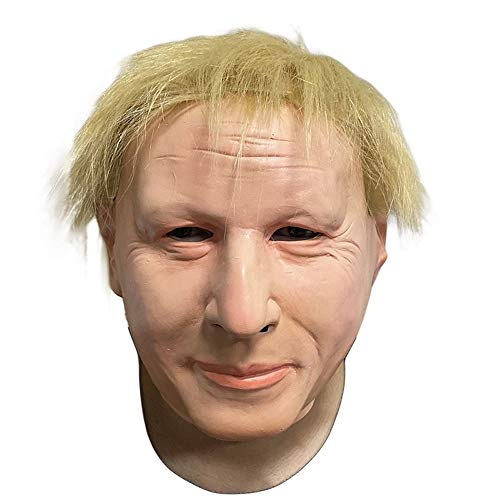 Boris Johnson Masker met haar Britse Politician Celebrity Plezier voor Evenementen en Feesten Plezier Halloween Party Dress Up Britse premier