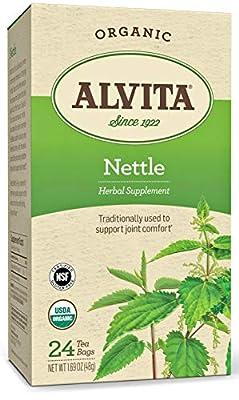 Alvita - Organic Nettle Tea Caffeine Free - 24 Tea Bags from Alvita