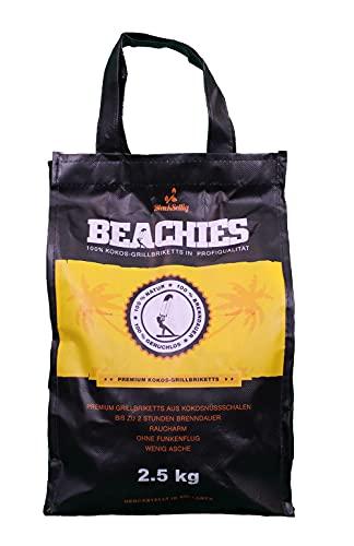 Kokosbriketts, Beachies, Grillkohle,...