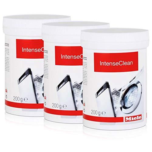 Miele 10716970 IntenseClean 200g - Maschinenreiniger (3er Pack)