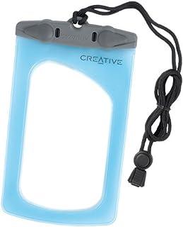 Creative Labs VA0580 Vado and Vado HD Waterproof Pouch (Blue)