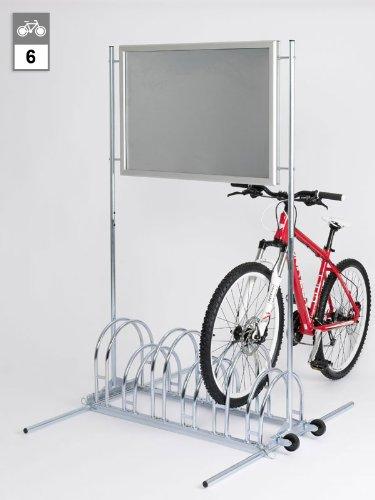 Werbe-Fahrradständer CW 5156 N - 6 Einstellplätze